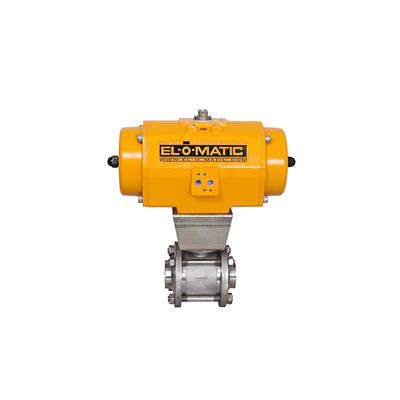 Actuator EL-O-Matic Emerson, actuatoare pneumatice, actuatoare cu ventil