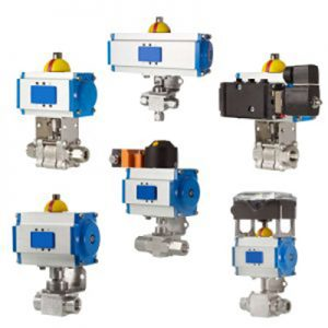 Ansambluri de valve actionate electric Hy Lok