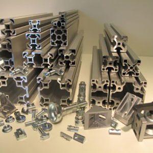 Profile aluminiu si componente Easy Systems